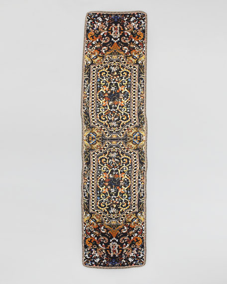 Fontainebleau Printed Silky Scarf