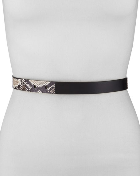 Python-Print Belt with Hidden Hook