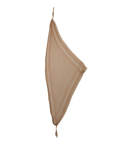 Trigon Acantha Scarf, Light Brown