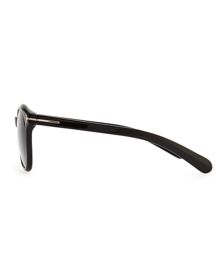 Riley Sunglasses, Shiny Black