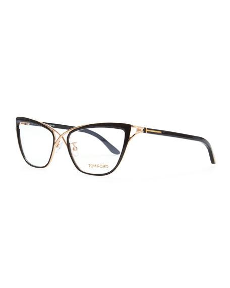 Crossover Cat-Eye Fashion Glasses
