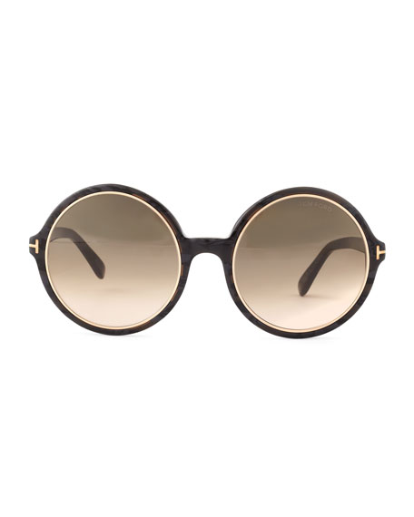 2abc2c46ee Tom Ford Carrie Round Frames