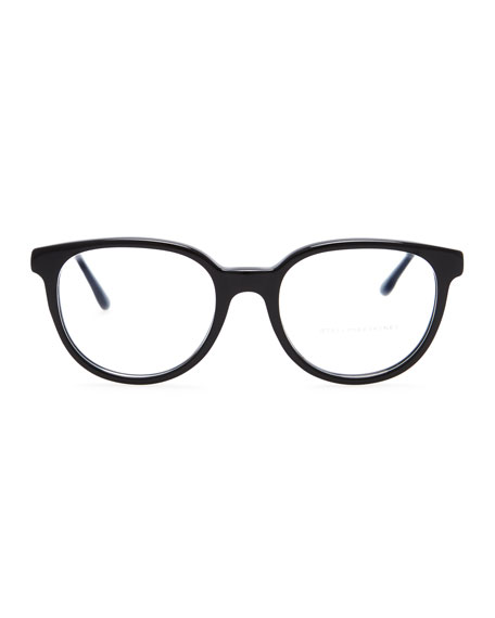 Round Optical Frames, Black