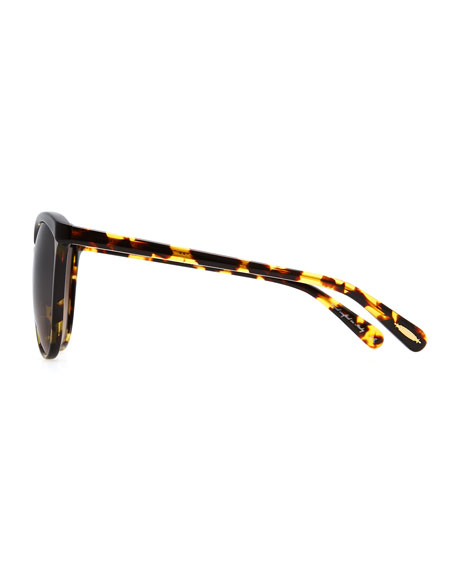 Ria Oversized Sunglasses, Tortoise