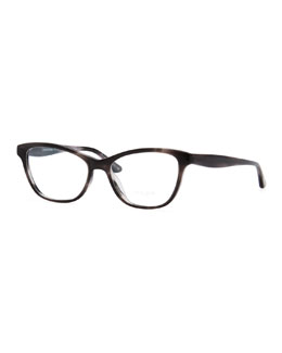 Oliver Peoples Lorell Rectangular Optical Frames, Gray
