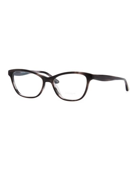 Lorell Rectangular Fashion Glasses, Gray
