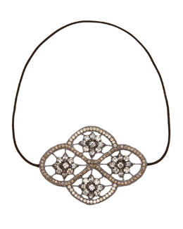 Deepa Gurnani Celtic Crystal Stretch Headband
