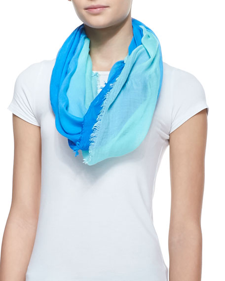 Pacific Viscose Eternity Scarf