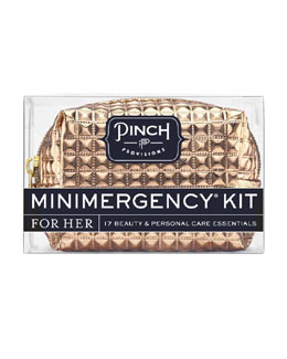 Pinch Provisions Stud Muffin Minimergency Kit For Her, Gold