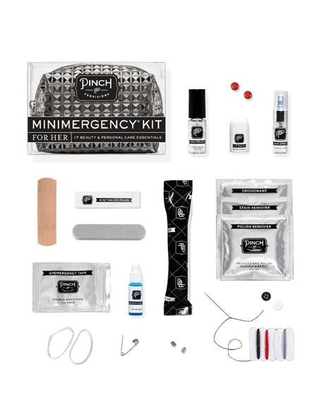 Stud Muffin Minimergency Kit For Her, Charcoal