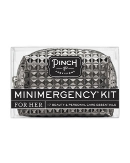 Pinch Provisions Stud Muffin Minimergency Kit For Her, Charcoal