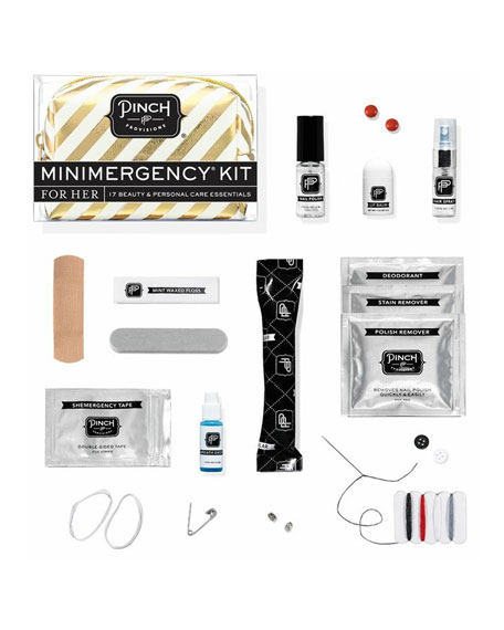 Candy Striper Minimergency Kit For Her, White