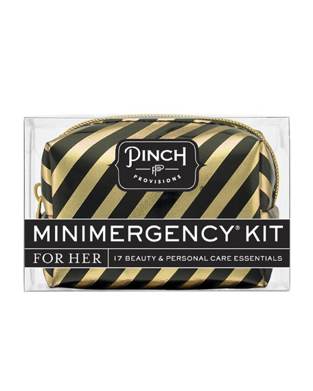 Candy Striper Minimergency Kit For Her, Black