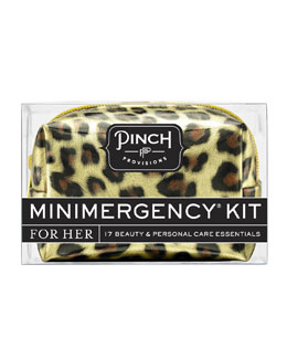 Pinch Provisions Minimergency Kit For Her, Leopard