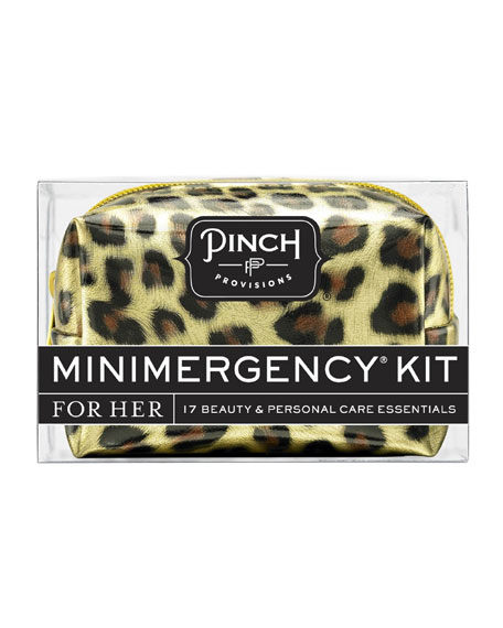 Minimergency Kit For Her, Leopard