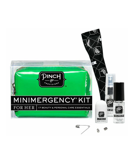 Good Luck Minimergency Kit For Her, Clover Green