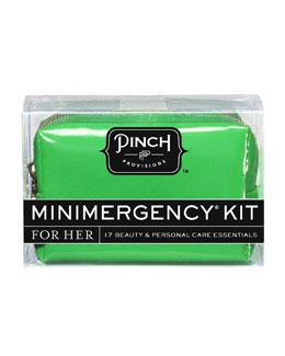 Pinch Provisions Good Luck Minimergency Kit For Her, Clover Green