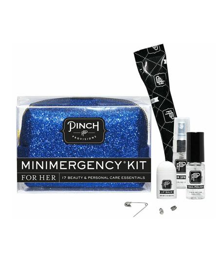 Bling It On Minimergency Kit For Her, Blue