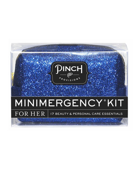 Bling It On Minimergency Kit For Her, Blue