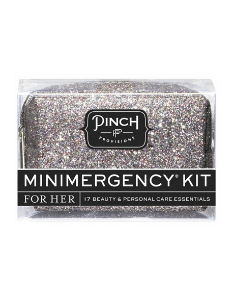 Bling It On Minimergency Kit For Her, Silver