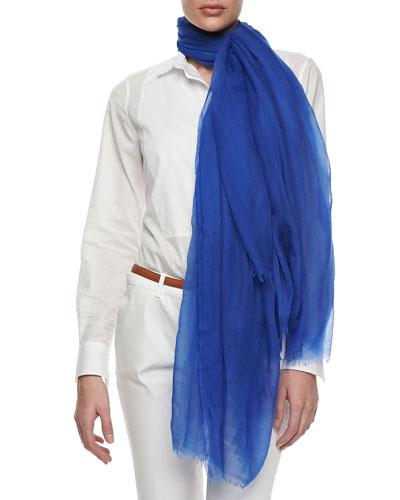 Loro Piana Stola Faded Unique, Tuareg Blue