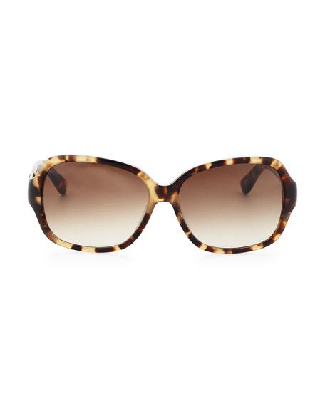 Carmel Acetate Sunglasses, Camel