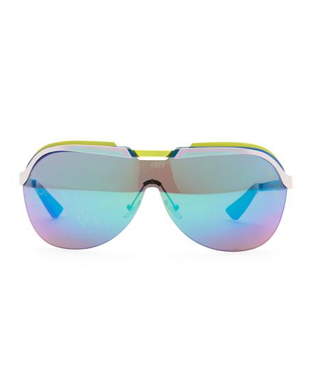 7a0fdae9c5 Dior Multicolor-Bar Shield Sunglasses