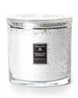 Voluspa Vermeil Collection Candle, Branche Vermeil