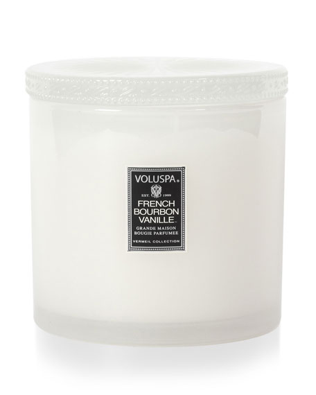 Vermeil Collection Candle, French Bourbon Vanille