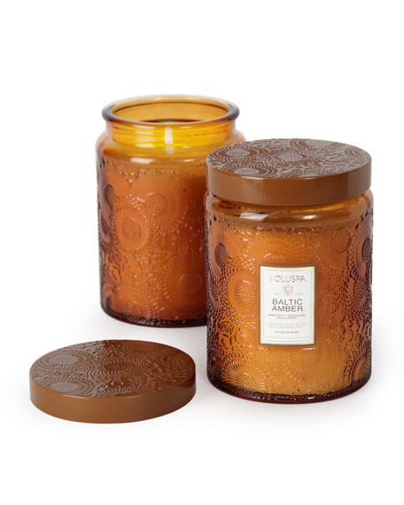 Japonica Collection Jar Candle, Baltic Amber