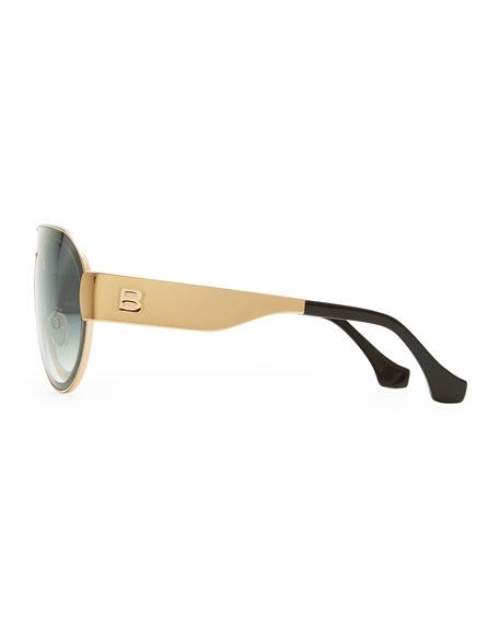 Transparent Aviator Sunglasses, Smoke