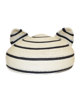Eugenia Kim Caterina Striped Hat with Animal Ears