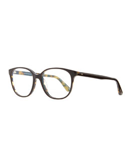 Oliver Peoples Rita 52 Fashion Glasses, Black
