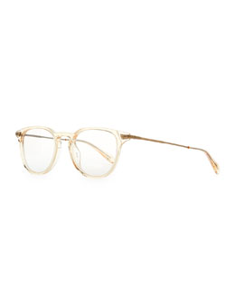 Oliver Peoples Ennis 48 Fashion Glasses, Yellow