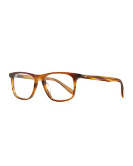 Oliver Peoples Meier 51 Fashion Glasses, Light Brown