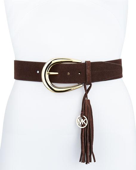 45mm Logo Tassel Belt