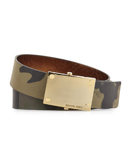 MICHAEL Michael Kors  38mm Scout Buckle Belt