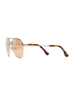 MICHAEL Michael Kors   Updated Aviator Sunglasses