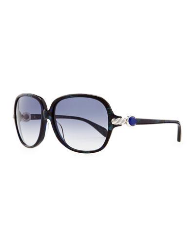 David Yurman Signature Cable Stone Sunglasses