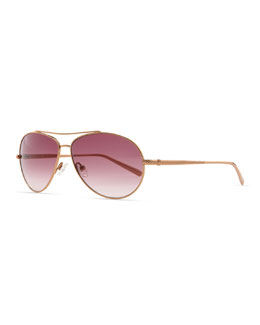David Yurman Waverly Aviator Sunglasses