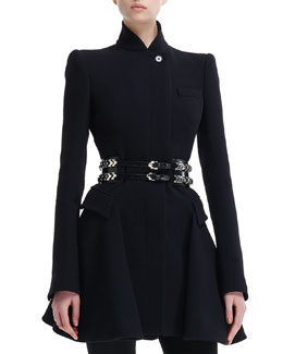 Alexander McQueen Double-Row Sliding-Charm Belt