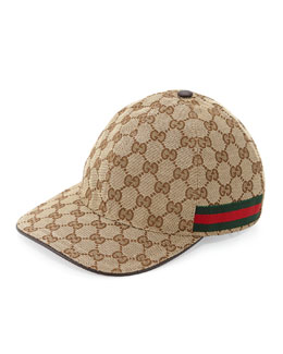 Gucci GG Canvas Baseball Hat