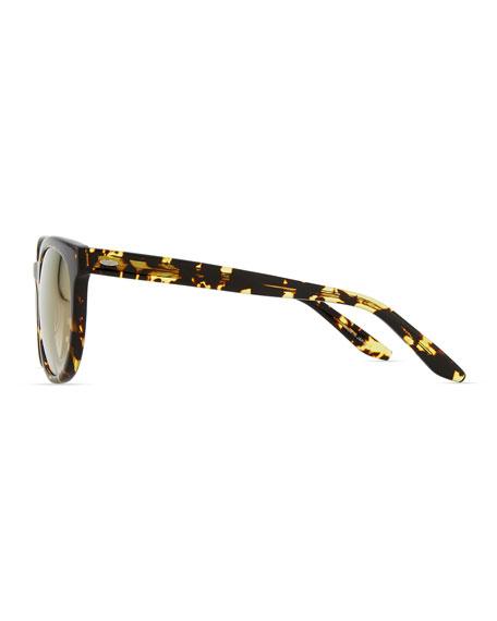 Baez Squared Sunglasses, Tortoise