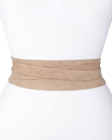 Python-Print Wrap Belt