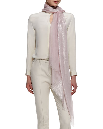 Matte/Shimmery Evening Wrap, Rosemarie