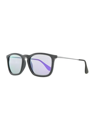 Ray-Ban Erika Velvet Edition Sunglasses, Gray