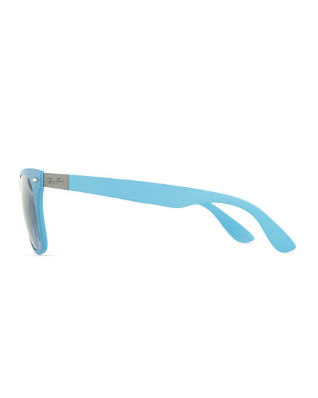 Liteforce Tech Wayfarer Sunglasses, Light Blue