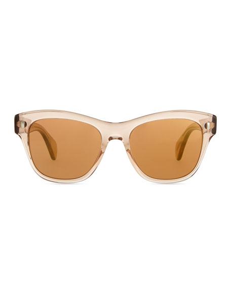 Sofee 53 Polarized Sunglasses, Peach