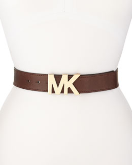MICHAEL Michael Kors  38mm Leather Belt