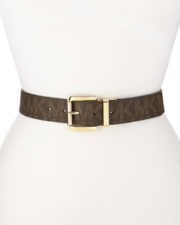 MICHAEL Michael Kors  Golden-Buckle Belt